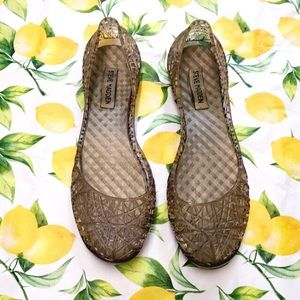 Steve Madden Clear Jelly Shoes Size 9